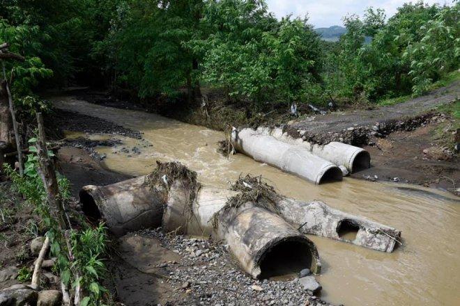 Şiddetli Sağanak Yağış Tekkeköy'ü bu hale getirdi..!