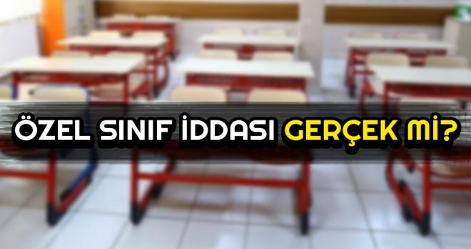 Samsun'da Özel Sınıf İddiası Gerçek mi Oldu?