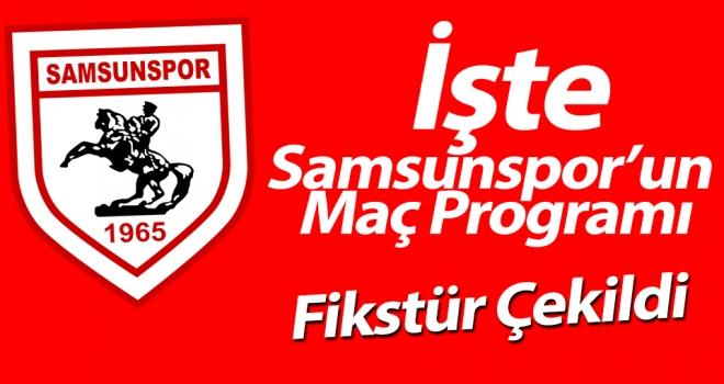 Samsunspor 2019 - 2020 Fikstürü Belli Oldu!