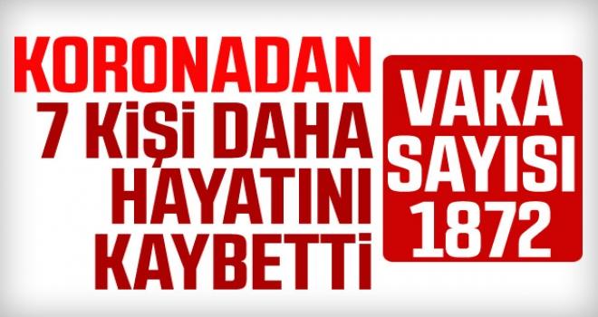 Sağlık Bakanı Koca: Ölü sayısı 44 oldu, toplam vaka sayısı da 1872'ye yükseldi