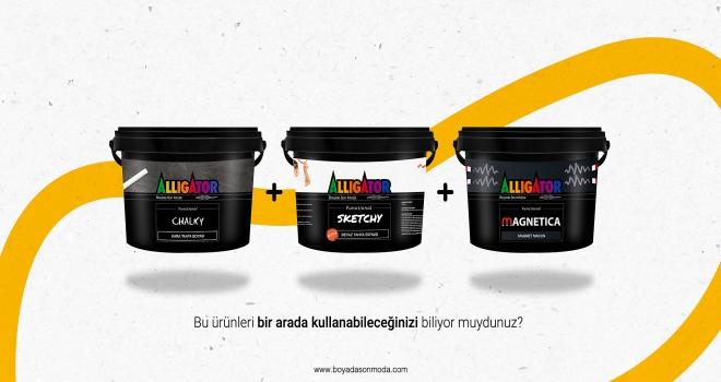 Alligator Boya'nın online alışveriş platformu boyadasonmoda.com hizmete başladı