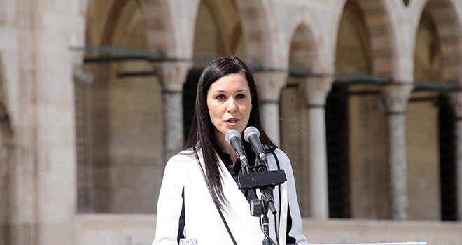 AK Parti Genel Başkan Yardımcısı Çiğdem Karaaslan Mevlit Kandili Mesajı