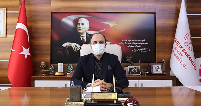 Samsun İl Sağlık Müdürü Oruç'tan Yılbaşı Uyarısı!