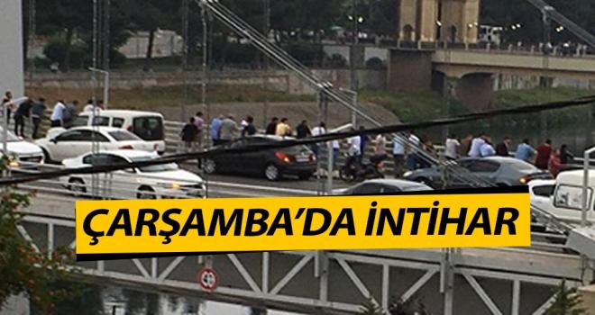 Çarşamba Yeni Şehir Köprüsü'nde intihar