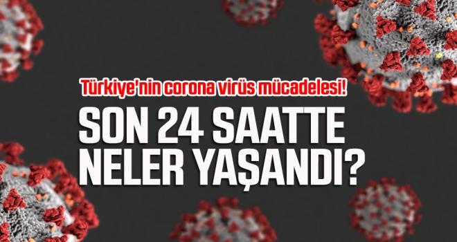 Türkiye'nin corona virüs mücadelesi! Son 24 saatte neler yaşandı?
