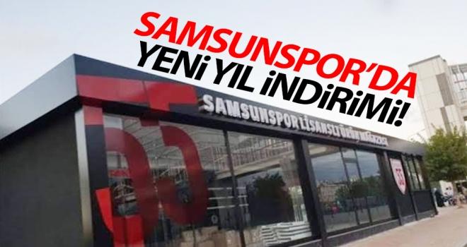 Samsunspor Store'da yeni yıl indirimi..!
