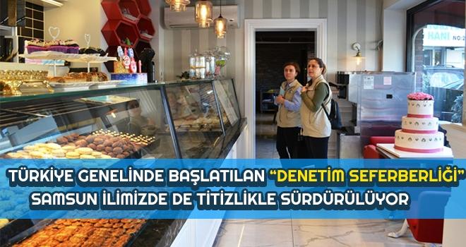 """Türkiye Genelinde Başlatılan """"Denetim Seferberliği"""""""