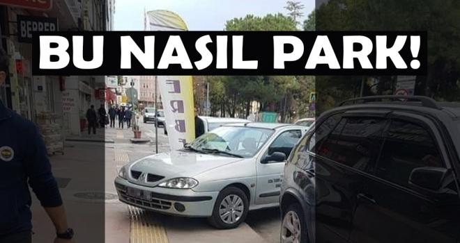 Bu nasıl park!