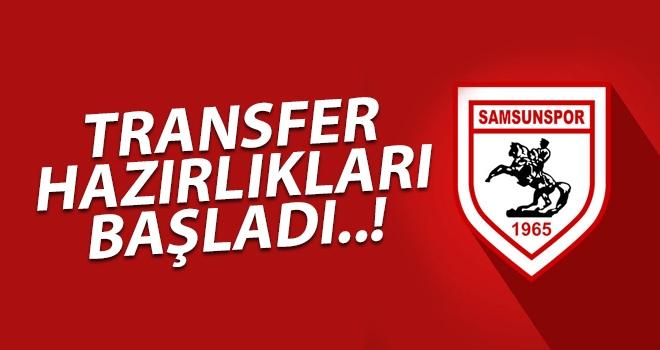 Samsunspor'da transfer hazırlıkları başladı..!