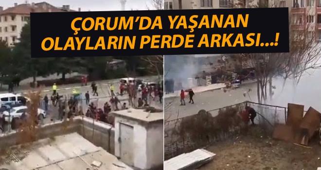 Çorumspor Samsunspor maçında yaşanan olayların perde arkası...!
