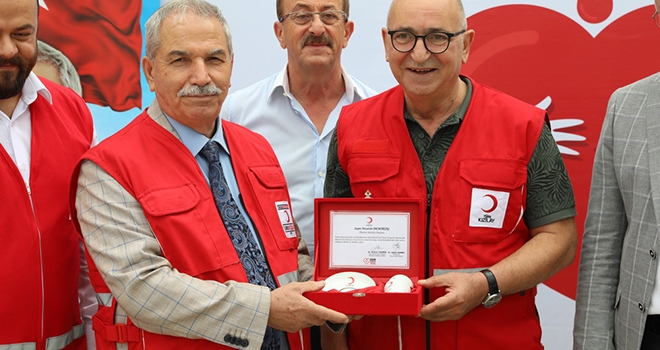 İlkadım Belediyesi Kan Bağışında Öncü Oldu