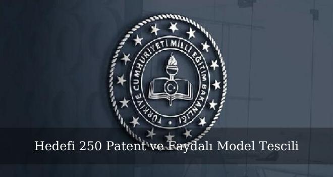 Hedefi 250 Patent ve Faydalı Model Tescili