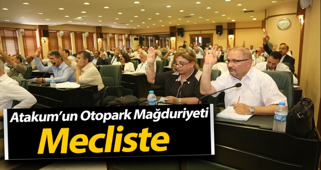 Atakum'da Otopark Mağduriyeti Mecliste