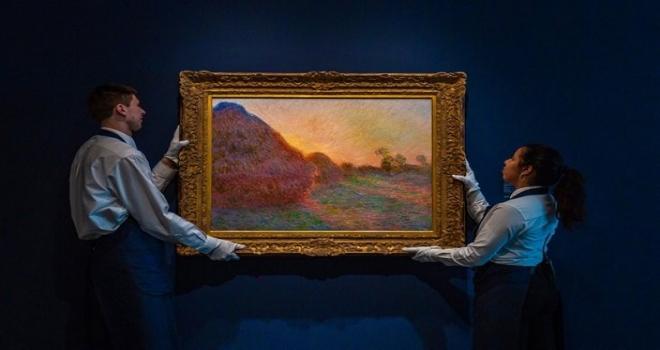 Claude Monet'in ünlü eseri 110,7 milyon dolara satıldı
