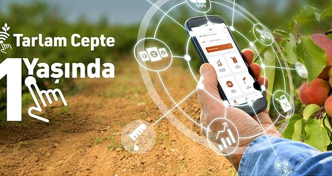 Tarlam Cepte Akıllı Uygulamasından 20.000 Çiftçi Yararlanıyor