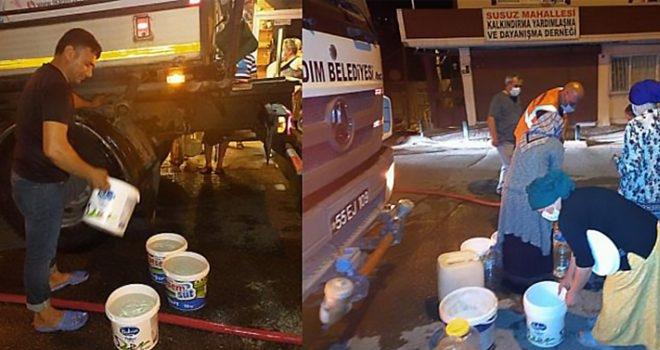 Samsun'da Suyu Kesilen Vatandaş Mağdur Oldu