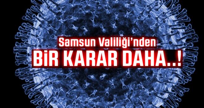 Samsun Valiliği Coranavirüs (Kovid-19) önlemlerini artırıyor..!