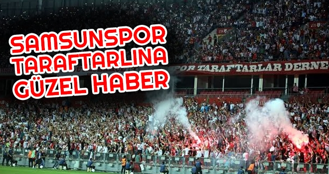 Yeni Çorumspor - Yılport Samsunspor Maçı Öncesi Taraftara İyi Haber