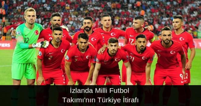 İzlanda Milli Futbol Takımı'nın Türkiye İtirafı