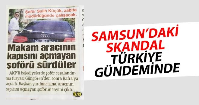 Samsun'daki Skandal Türkiye Gündeminde..!