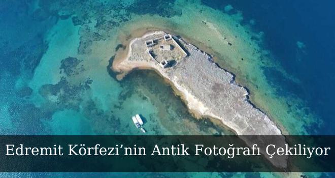 Edremit Körfezi'nin Antik Fotoğrafı Çekiliyor