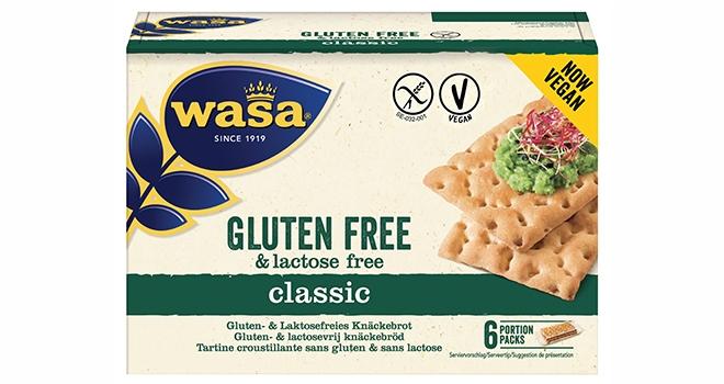 Wasa'dan Yüzde Yüz Vegan Glutensiz Gevrek Ekmek