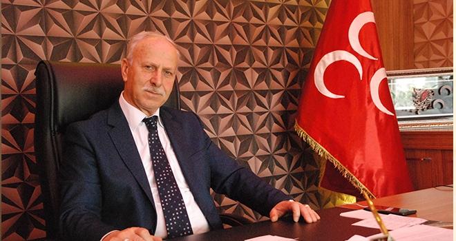 Milliyetçi Hareket Partisi Samsun İl Başkanı Abdullah Karapıçak'dan Bayram Mesajı