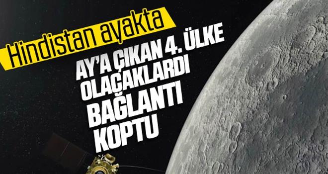 Hindistan'ın Chandrayaan-2 uzay aracı Ay'a iniş gerçekleştiremedi