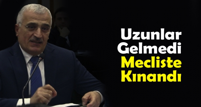 Hasan Uzunlar Mecliste Kınandı!