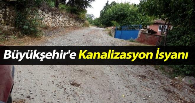 Büyükşehir'e Kanalizasyon İsyanı