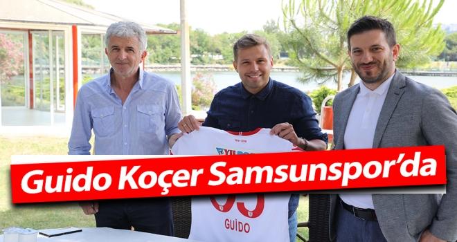 Guido Koçer Samsunspor'da