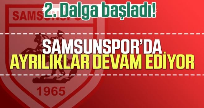 2. Dalga Başladı! Samsunspor'da Ayrılıklar Devam Ediyor.