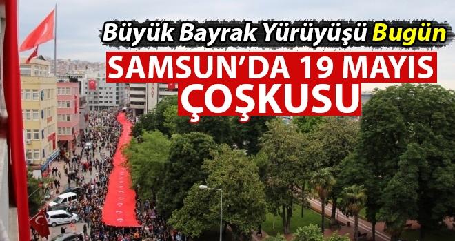 Büyük bayrak yürüyüşü bugün