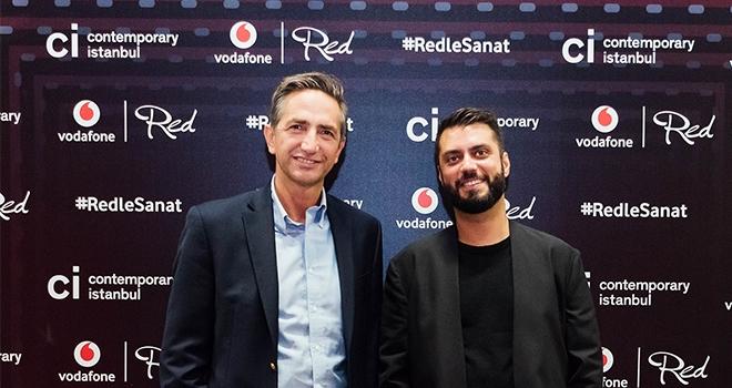 Dünyaca Ünlü Sanatçı Vodafone Red ile İstanbul'Da