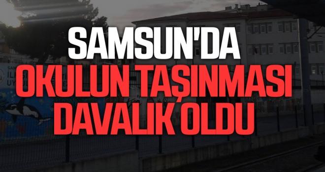Samsun'da Zafer Özel Eğitim Meslek Okulu Okulun Taşınması Davalık Oldu