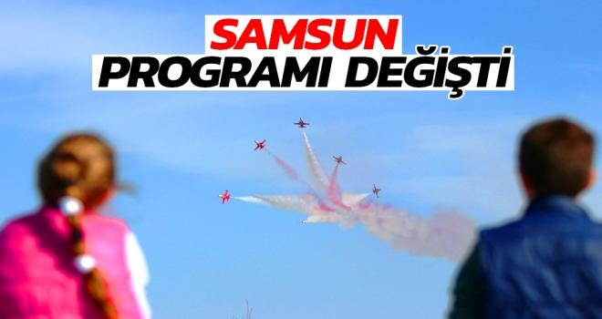 Türk Yıldızları ve SOLOTÜRK'ün 19 Mayıs Samsun programı