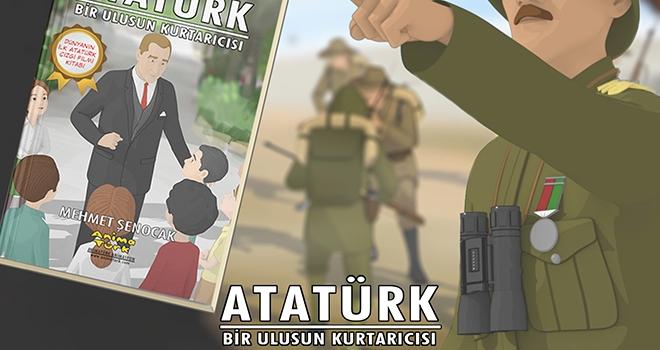 'Atatürk Bir Ulusun Kurtarıcısı' Çizgi Romanı Raflarda