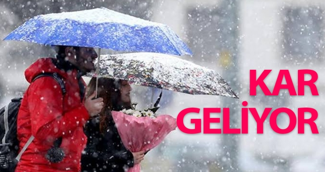Kar geliyor...! Yurt genelinde hava durumu