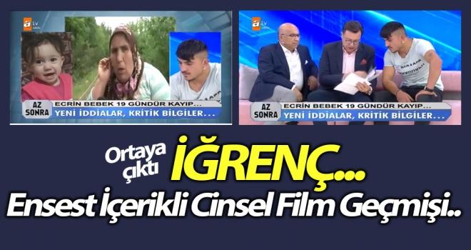 Özkan Kurnaz'ın Ensest İçerikli Cinsel Film Geçmişi