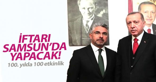 Cumhurbaşkanı Erdoğan'ın 19 Mayıs programı