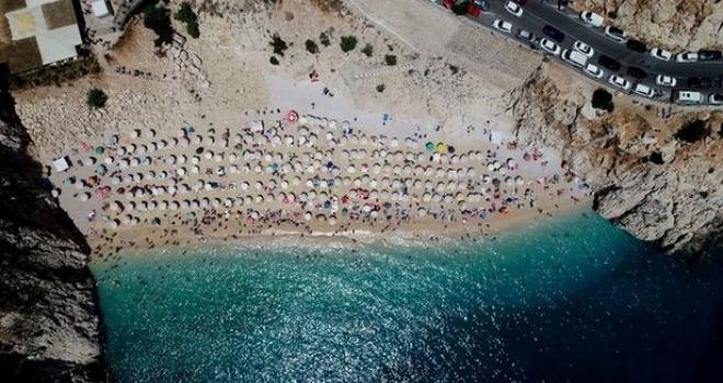 Turizmde bayram bereketi! 400 bin kişi akın etti