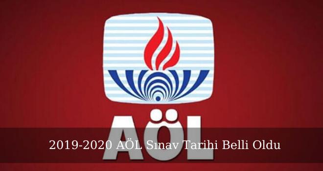 2019-2020 AÖL Sınav Tarihi Belli Oldu