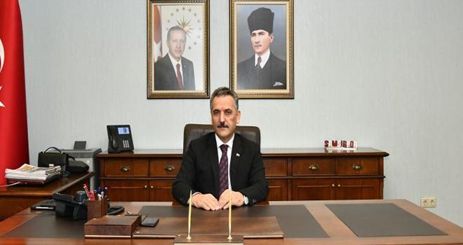 Samsun Valisi Osman Kaymak Bayram Kutlama Mesajı