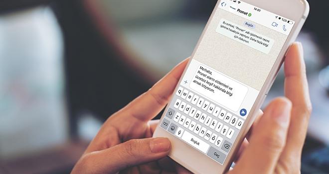Pronet, Onaylı WhatsApp Hattıyla Hizmet Vermeye Başladı
