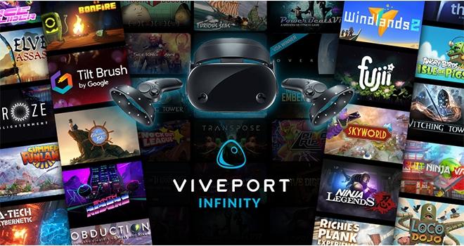 Samsung HMD Odyssey Sahipleri İki Ay Ücretsiz Viveport Infinity Üyeliği Kazanıyor