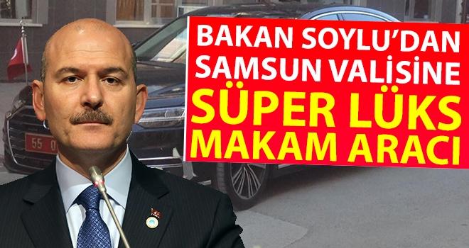 Bakan Soylu'dan Samsun Valisine Süper Lüks Makam Aracı