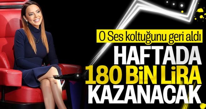 Ebru Gündeş, O Ses Türkiye'ye Geri Döndü