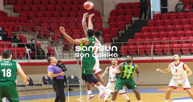 Samsunspor Basketbol 2'de 2 Yaptı