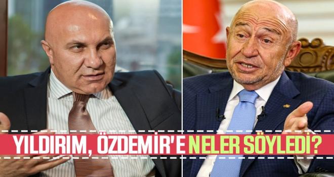 TFF'nin Toplantısına Katılan Başkan Yıldırım Nihat Özdemir'e Neler Söyledi?