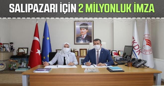 Salıpazarı İçin 2 Milyonluk İmza